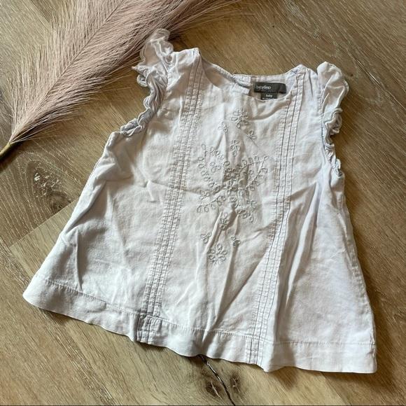 🌟 4/$12  BABY GAP 18-24 mo shirt dress